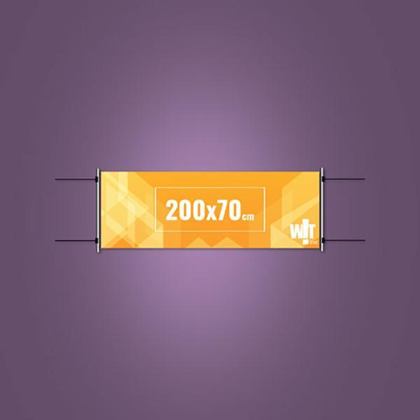 Faixa Impressa 200x70cm