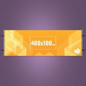 Faixa Impressa 400x100cm